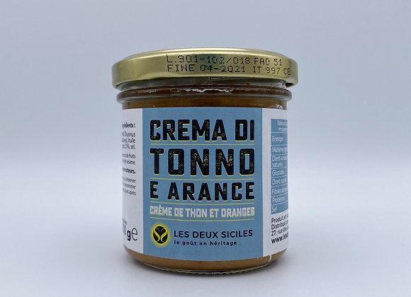Crème de Thon et Orange de Sicile
