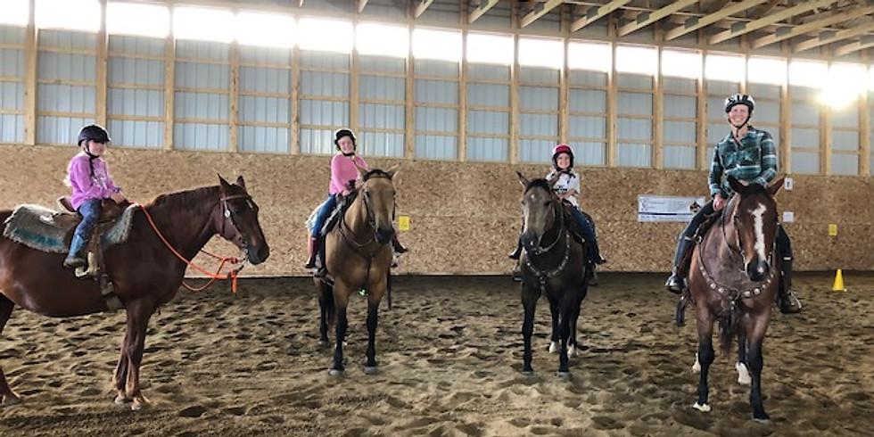 Progressive Riding Lessons- Thursday