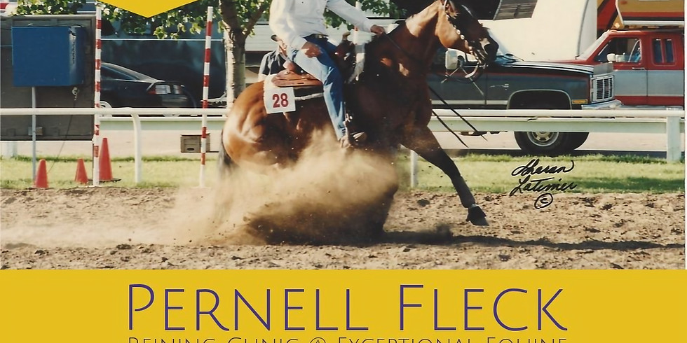 Pernell Fleck Reining Clinic Series
