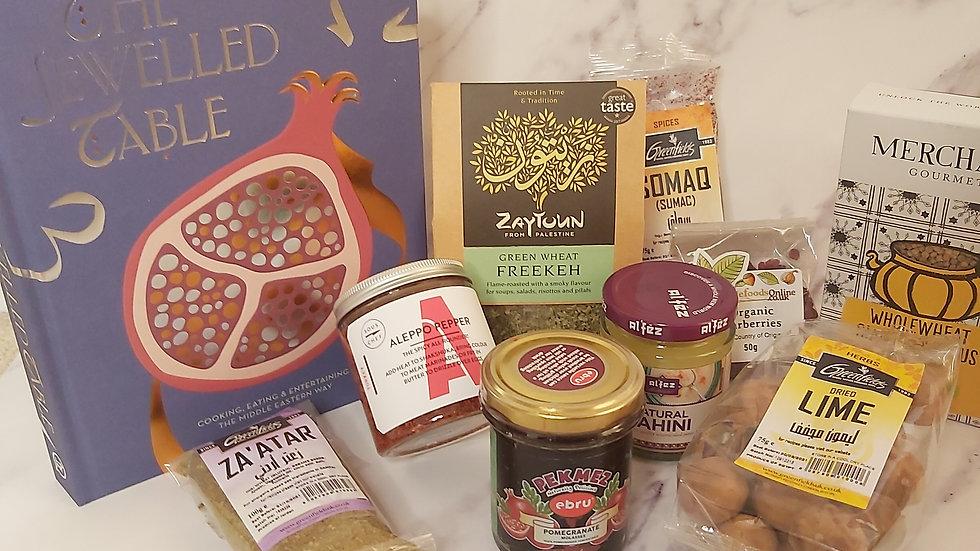 Middle Eastern Cookbook Hamper