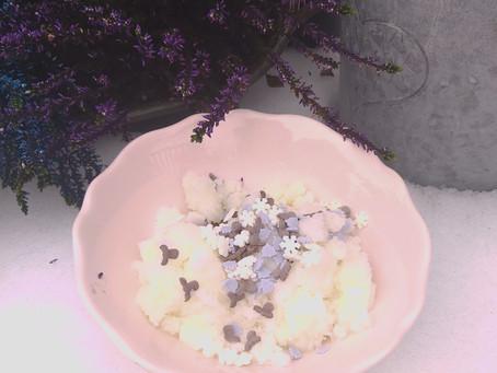 Making Snow Cream