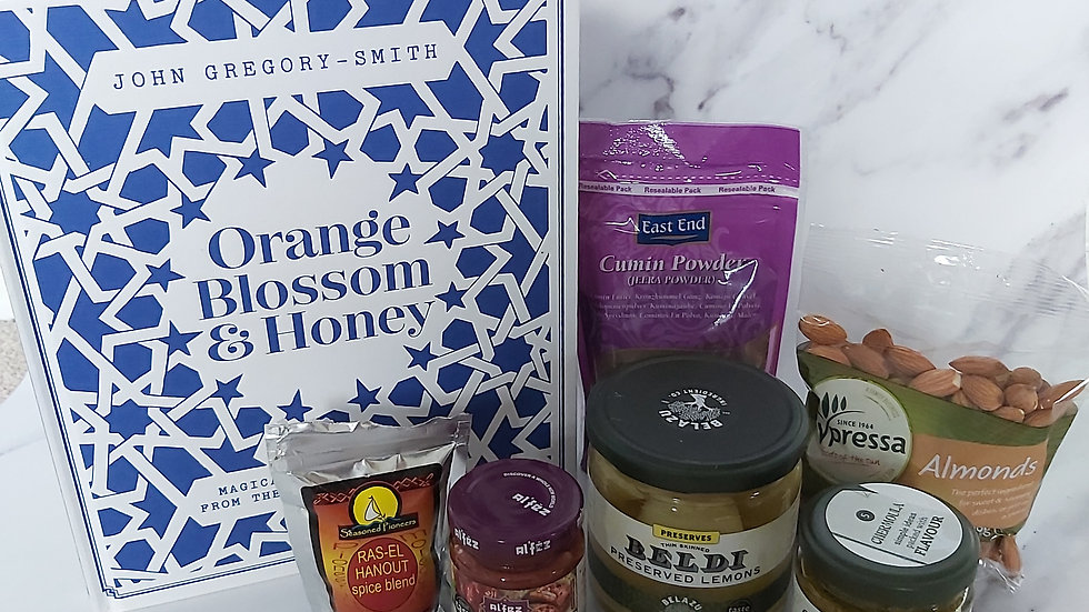 Moroccan Cookbook Ingredient Hamper