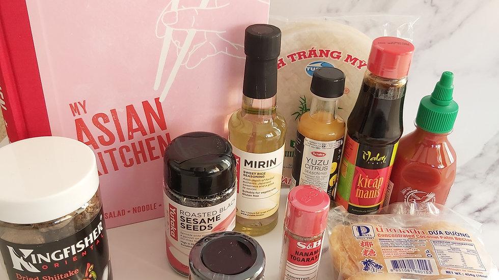 Luxury Asian Kitchen Cookbook Hamper