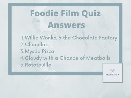 Foodie Film Quiz