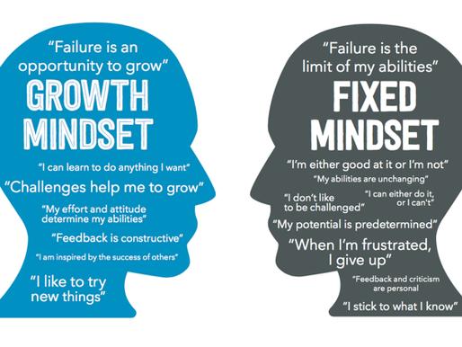 Growth Mindset Versus Fixed Mindset