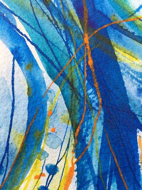 Art Cards - Bold Blue