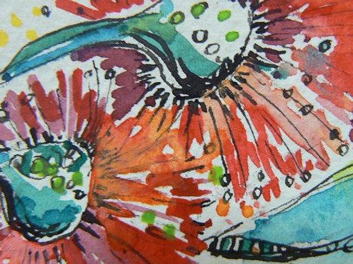 Art Card - Gum Flower