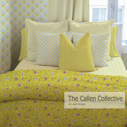 Dainty Day Floral in Meadowlark Yellow