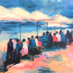 Ocean Cafe - Limited Edition Print
