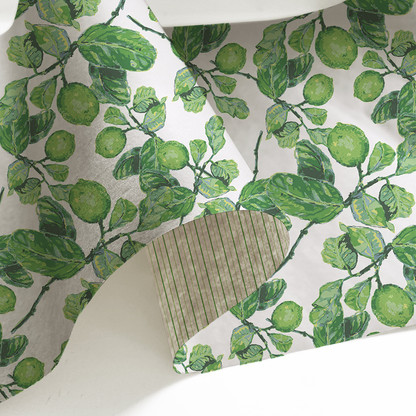 Wrapping Paper  with White Limes.jpg
