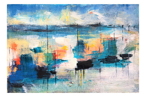 Harbour Cafe -Limited Edition Print