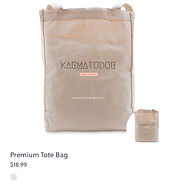 Karma Tudor Tote Bag