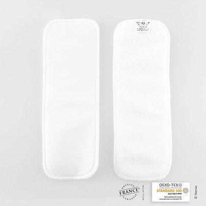 2 absorbants en Microfibre - 1 épaisseur