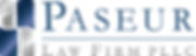 Paseur Logo Blue Darker LONGER Metallic