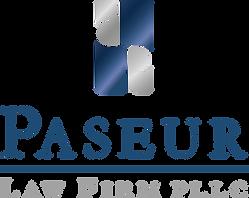 Paseur Logo Blue Metallic 2020 STACKED.p