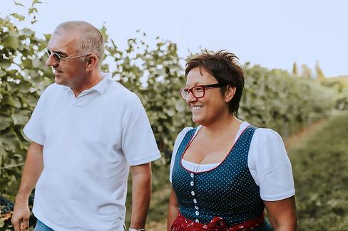 Erwin und Sissi Weingut Österreicher aus Pfaffstätten