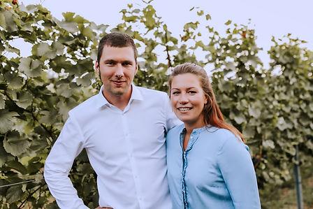 Stefan und Laura Weingut Österreicher aus Pfaffstätten