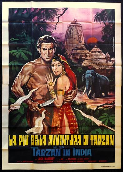 Tarzan vai à Índia
