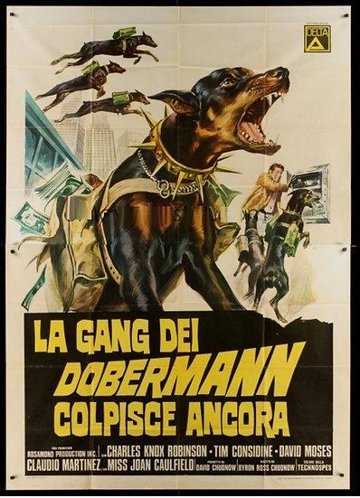 A Volta da Gangue dos Dobermans