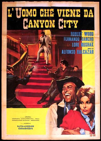 O Homem De Canyon City