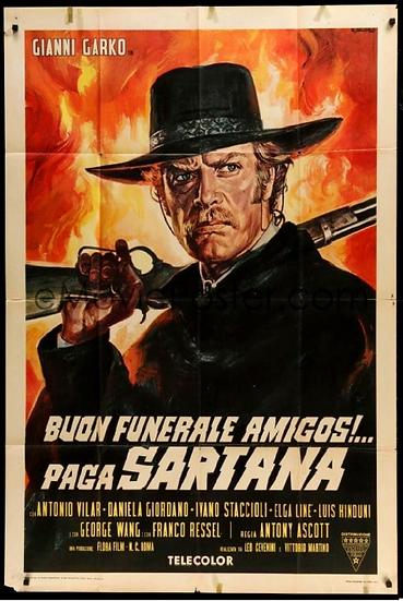 Bom Funeral Amigos Paga Sartana
