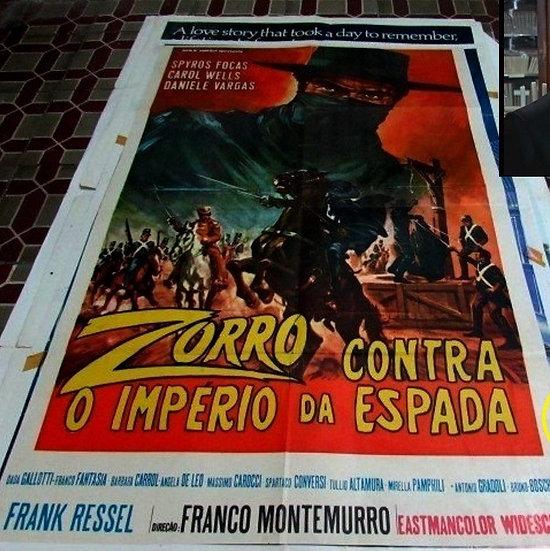 Zorro Contra O Império Da Espada