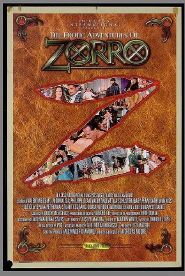 Zorro - As Aventuras Eróticas De Zorro (2)
