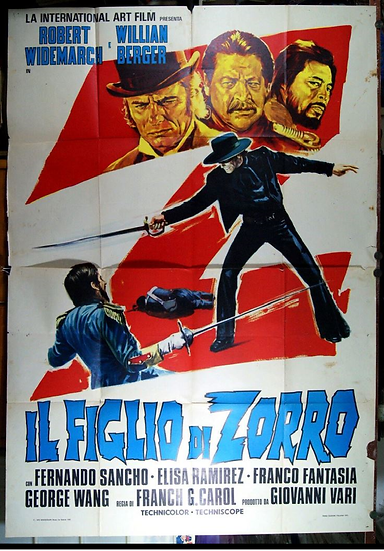 Zorro - O Filho Do Zorro