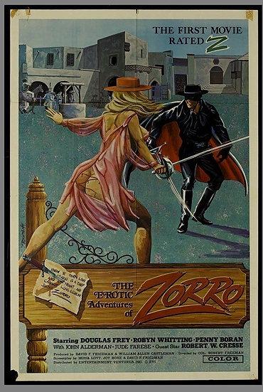 Zorro - As Aventuras Eróticas De Zorro (1)