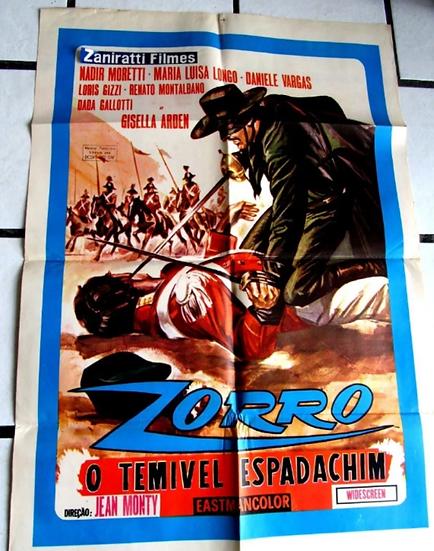 Zorro o Temivel Espadachim
