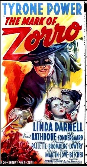 Zorro - O Sinal Do Zorro (Tyrone Power)