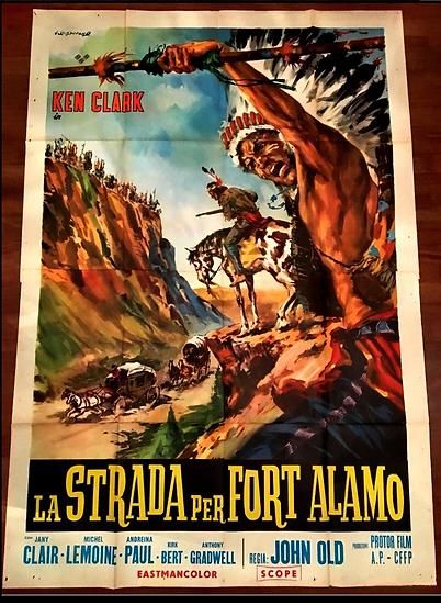 A Estrada para o Forte Alamo