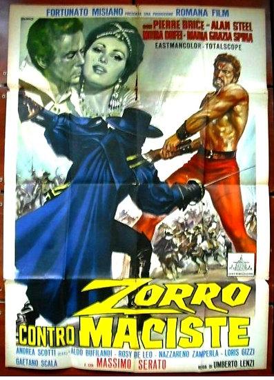 Zorro Contra Maciste / Sansão e a Rainha Escrava