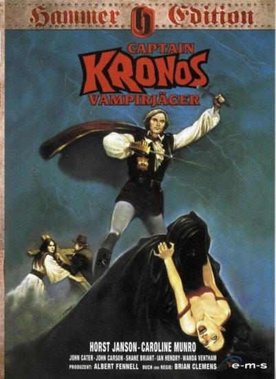 Capitão Kronos, O Caçador de Vampiros