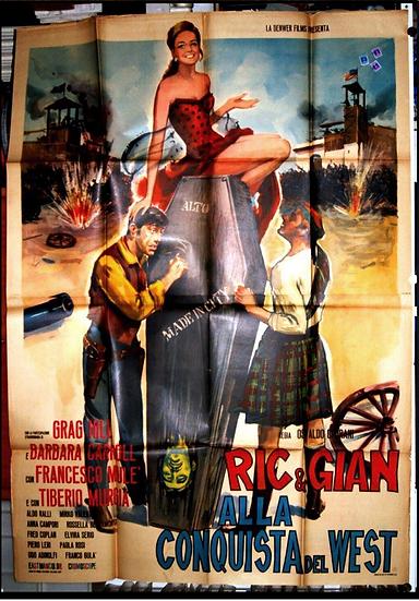 Ric & Gian - Alla Conquista Del West