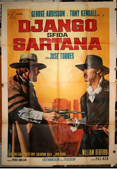 Django Desafia Sartana