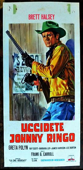Johnny Ringo - O Caçador Dos Fora Da Lei