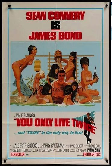 Com 007 Só Se Vive Duas Vezes