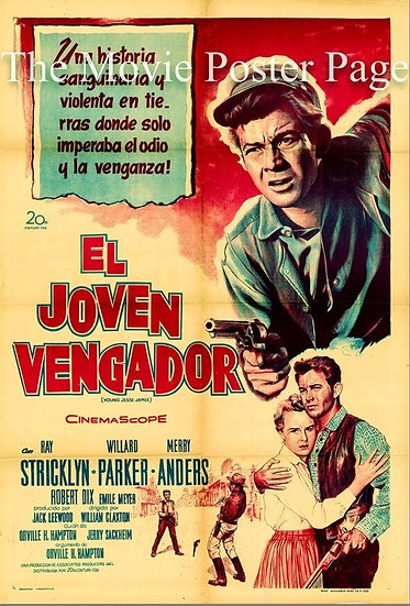 O Jovem Vingador / O Jovem Jesse James
