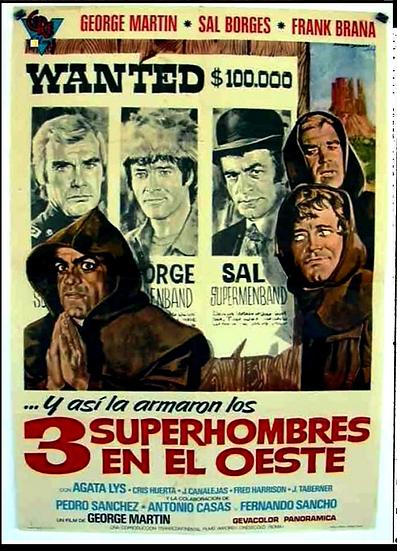 3 Super-homens No Oeste