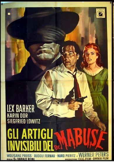 O Invisível Dr. Mabuse