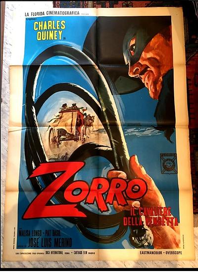 Zorro - O Cavaleiro Da Justiça (Charles Quiney)