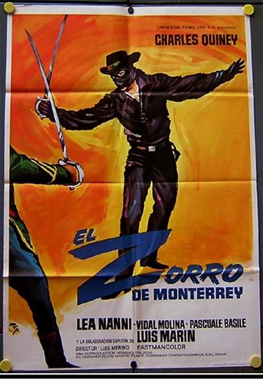 Zorro - Charles Quiney 3 (O Zorro De Monterrey)