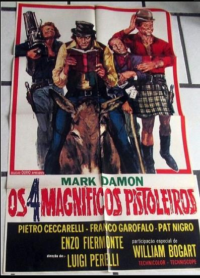 Os 4 Magníficos Pistoleiros