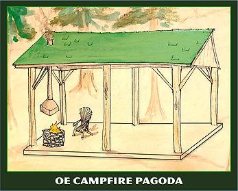 OE Campfire Pagoda