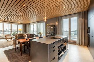 Hamburger Penthouse Wohnküche