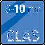 Mögliches Material ud Stärke des Türblatts: Glas 8-10mm