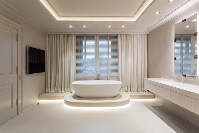 Altbauvilla mit Alsterblick Badezimmer