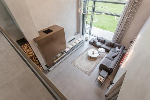 Moderne Giebelhausvilla