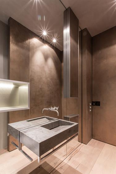 Berliner Penthouse Badezimmer